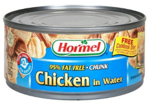 Canned Hormel Chicken