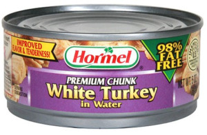 Canned Hormel Turkey