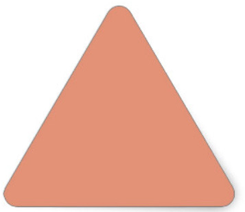 Triangle-SalmonColor